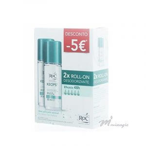 RoC Keops Pack Duo Roll-On Desodorizante 48h 2x30ml
