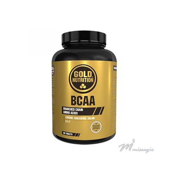 GOLD NUTRITION Bcaa´s 60comp