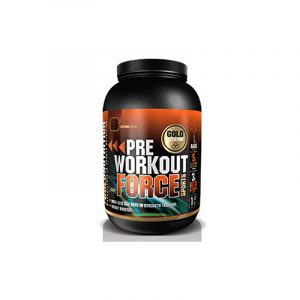 GOLD NUTRITION Pre-Workout Force Cafeina-Cola 1Kg