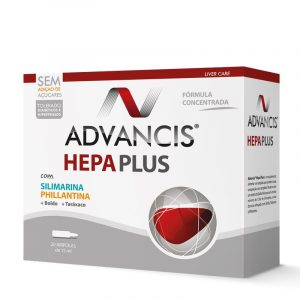Advancis Hepa Plus Ampolas 15ml - Saúde Digestiva